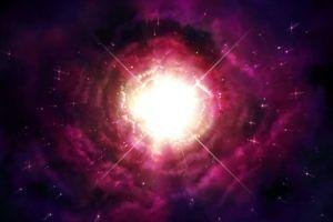 Flash, Space, Stars, Galaxy, Flares, Space Art