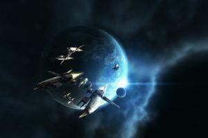 EVE Online, Amarr, Space, Spaceship