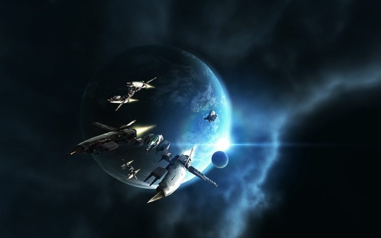 EVE Online, Amarr, Space, Spaceship HD Wallpaper Desktop Background