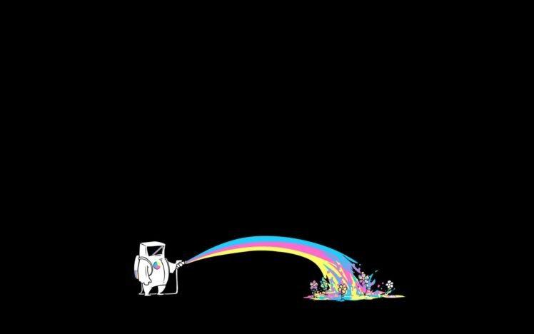 space, Rainbows HD Wallpaper Desktop Background