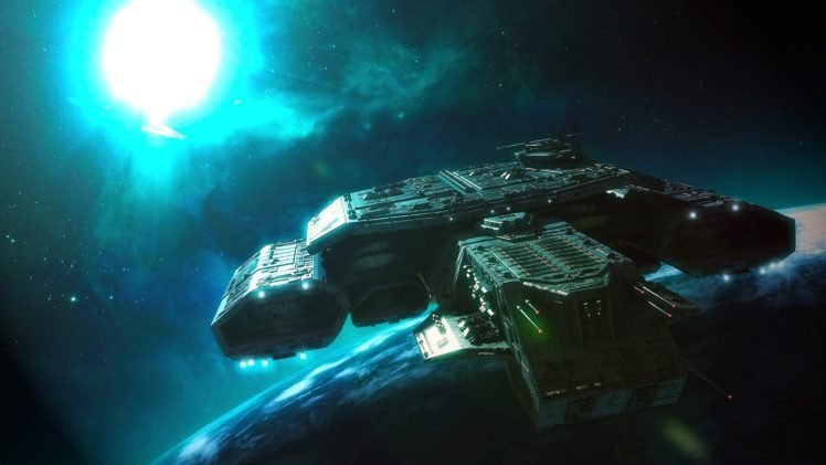 Stargate, Daedalus class, Space HD Wallpaper Desktop Background