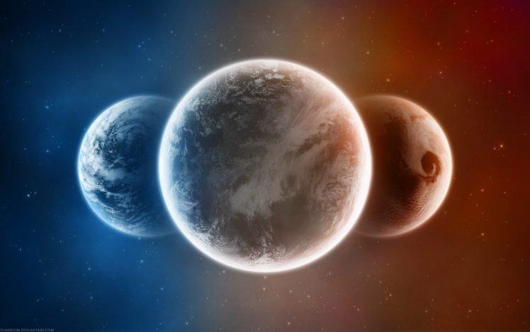space, Space Art, Planet HD Wallpaper Desktop Background