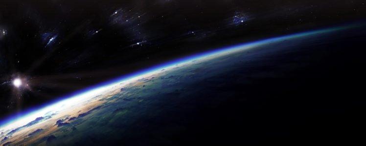 artwork, Science Fiction, Space Art HD Wallpaper Desktop Background