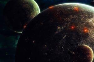 science Fiction, Space Art
