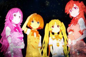 Ano Natsu De Matteru, Takatsuki Ichika, Kanna Tanigawa, Kitahara Mio, Remon  Yamano, Stars, Space