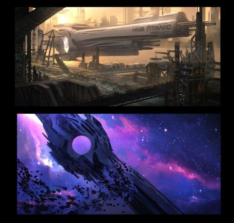 Titanic Wallpaper: E Mendoza, Titanic, Space HD Wallpapers / Desktop And
