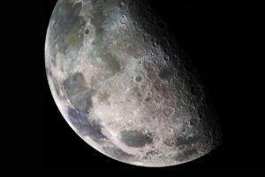 closeup, Moon, Moonlight, Texture