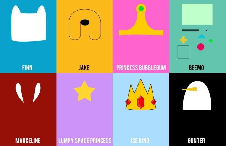 Adventure Time, Finn The Human, Jake The Dog, Princess Bubblegum, BMO,