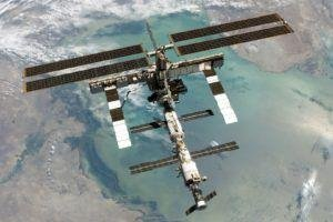 International Space Station, Space, Earth