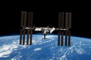 space Station, Earth, International Space Station, Soyuz