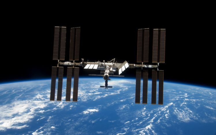 space Station, Earth, International Space Station, Soyuz HD Wallpaper Desktop Background