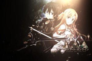 Sword Art Online, Anime, Kirigaya Kazuto, Yuuki Asuna