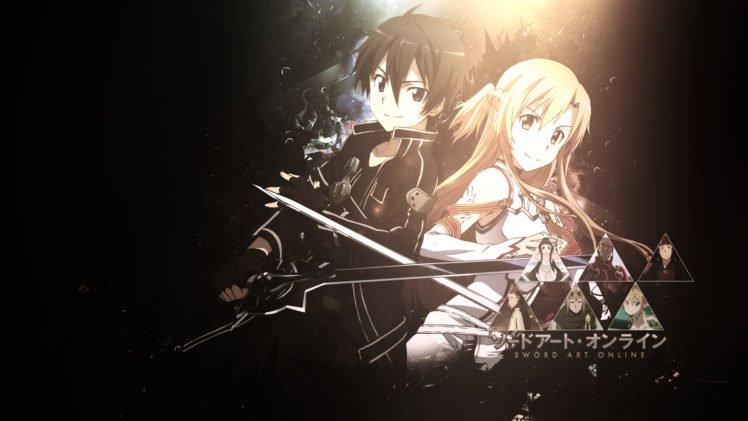 Sword Art Online, Anime, Kirigaya Kazuto, Yuuki Asuna HD Wallpaper Desktop Background