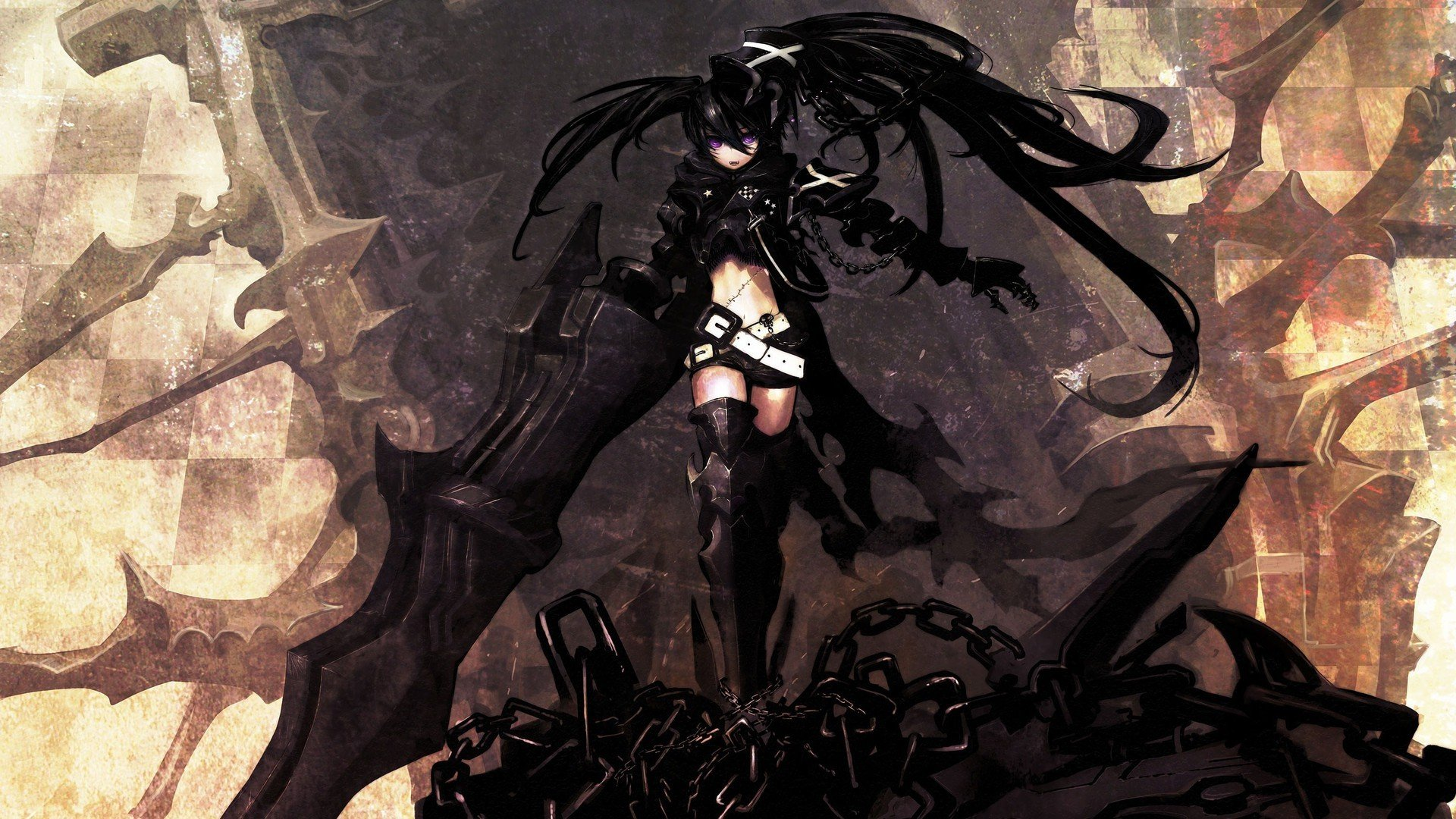 Anime Black Rock Shooter Insane Black Rock Shooter Hd Wallpapers