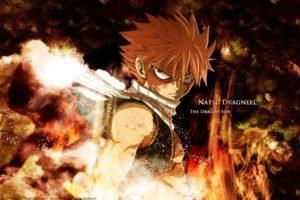 anime, Fairy Tail, Dragneel Natsu