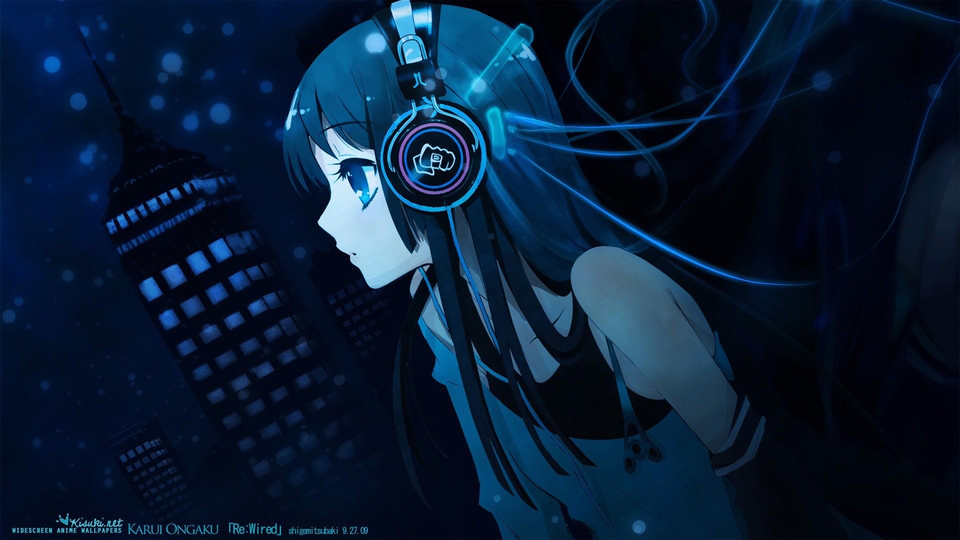 Anime Girls Music Headphones Anime Hd Wallpapers Desktop And Mobile Images Photos