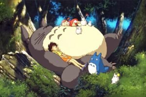 anime, My Neighbor Totoro, Totoro, Studio Ghibli