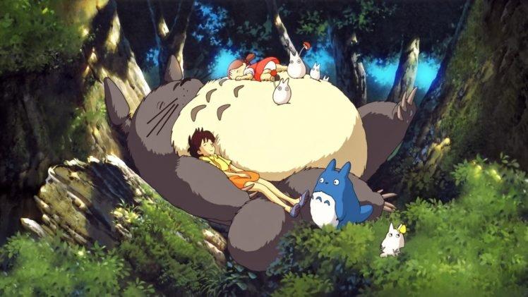 Anime My Neighbor Totoro Totoro Studio Ghibli Hd