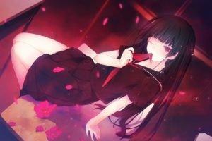 anime girls, Tasogare Otome x Amnesia, Kanoe Yuuko