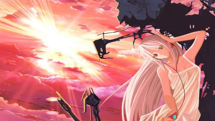 anime girls, Clannad, Sakagami Tomoyo HD Wallpaper Desktop Background