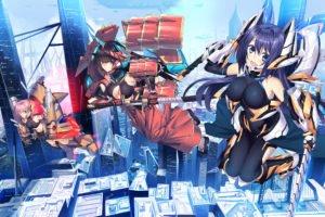 anime girls, Original characters