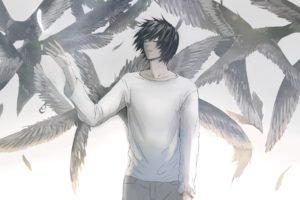 Death Note, Raven, Lawliet L