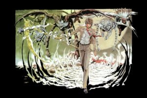 Death Note, Yagami Light, Ryuk