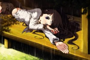 anime girls, Purple eyes, Chitanda Eru, Hyouka
