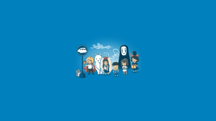 Chihiro Hayao Miyazaki Kikis Delivery Service Princess Mononoke