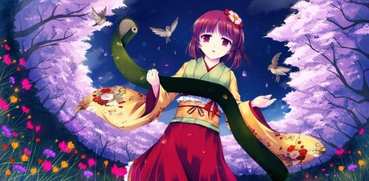 Touhou, Kimono, Hieda no Akyu HD Wallpaper Desktop Background
