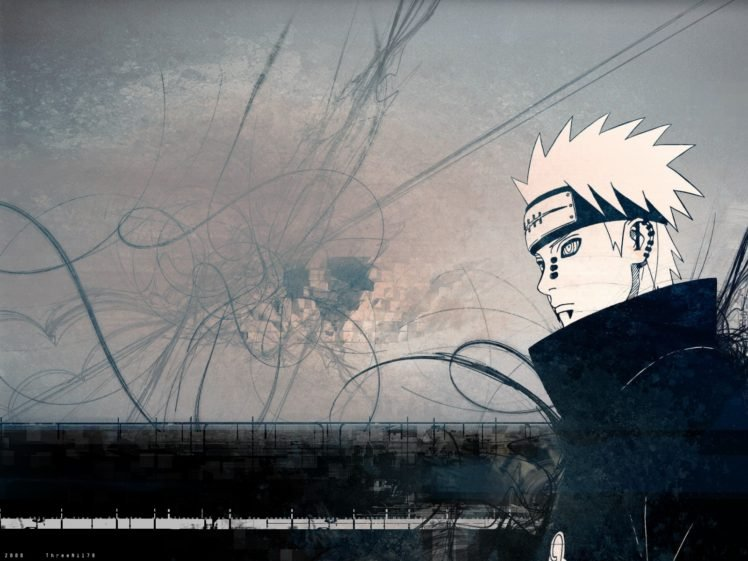 Anime Pein Akatsuki Rinnegan Hd Wallpapers Desktop And