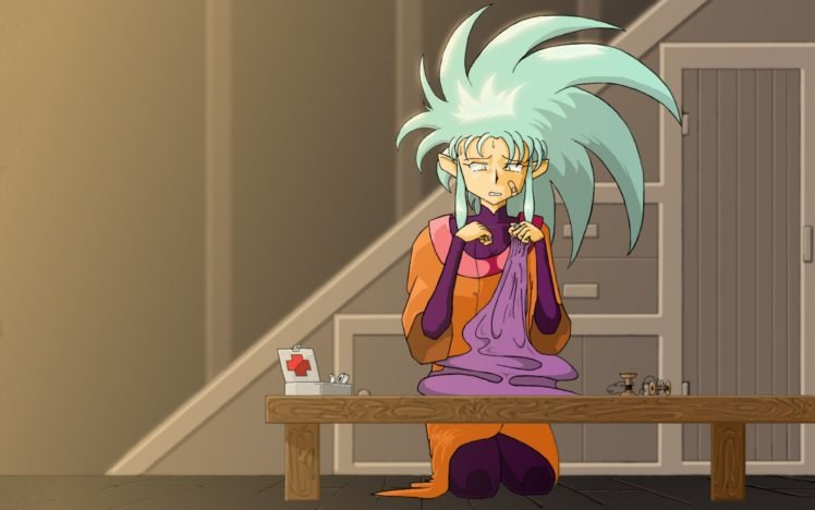 anime girls, Anime, Ryoko Hakubi, Tenchi Muyo! HD Wallpaper Desktop Background