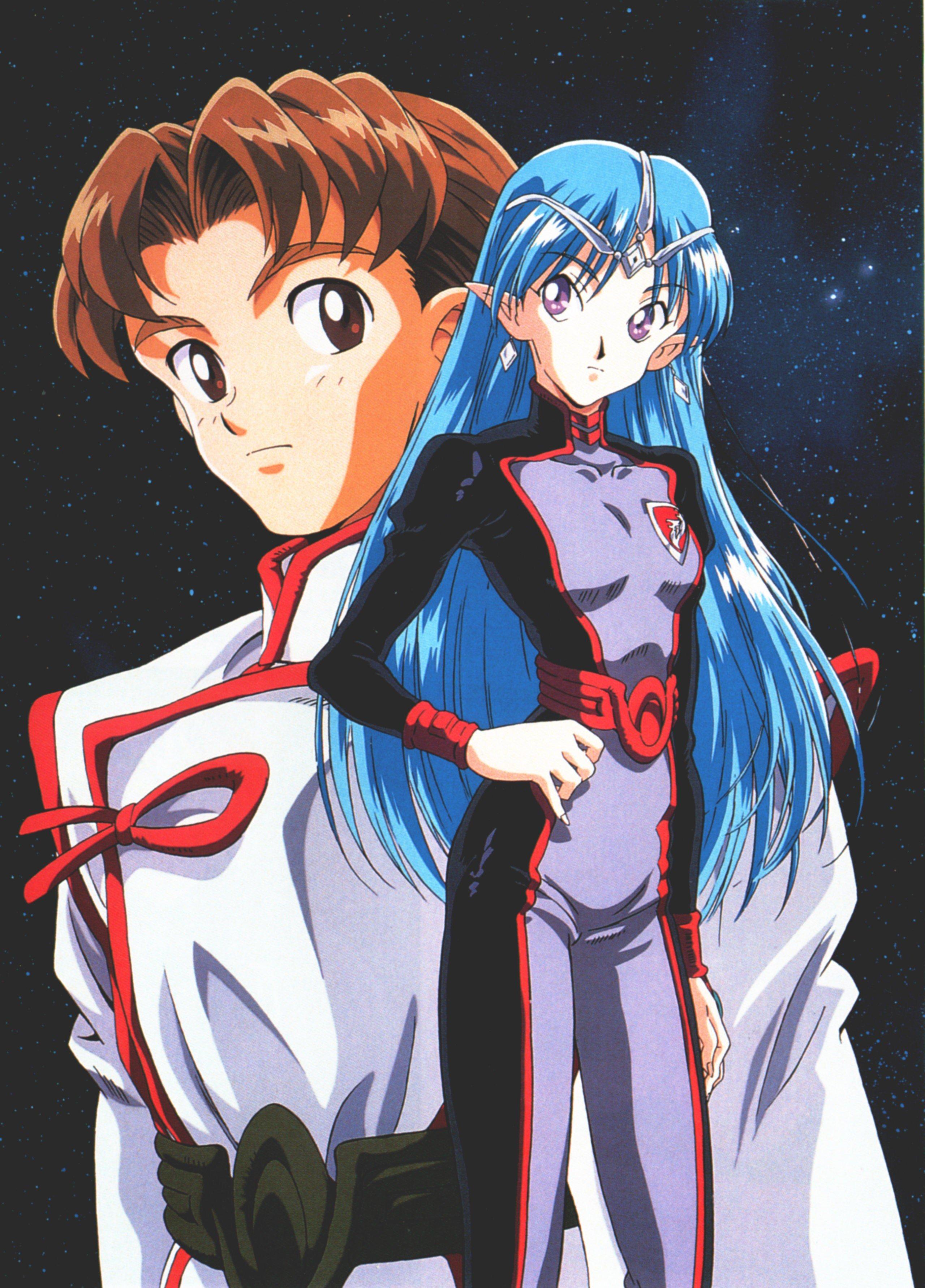 Banner of the Stars, Anime Wallpaper