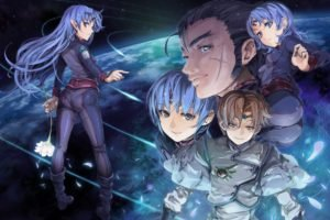 Banner of the Stars, Anime