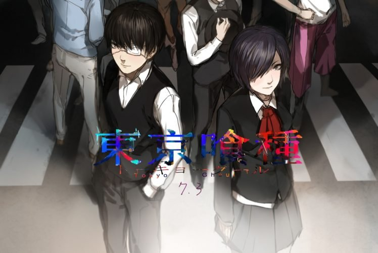 Tokyo Ghoul, Kaneki Ken, Kirishima Touka HD Wallpaper Desktop Background