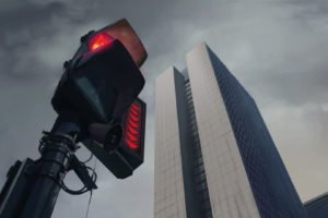digital art, Traffic lights, Urban, Skyscraper, Building, Anime