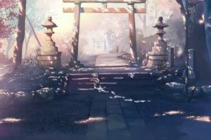 torii, 5 Centimeters Per Second