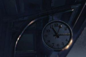 anime, Clocks, Building, 5 Centimeters Per Second