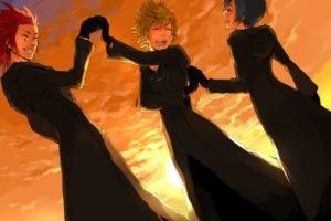 Kingdom Hearts, Organisation XIII, Roxas, Axel, Xion