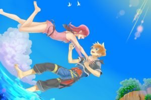 Kingdom Hearts, Sora (Kingdom Hearts), Kairi