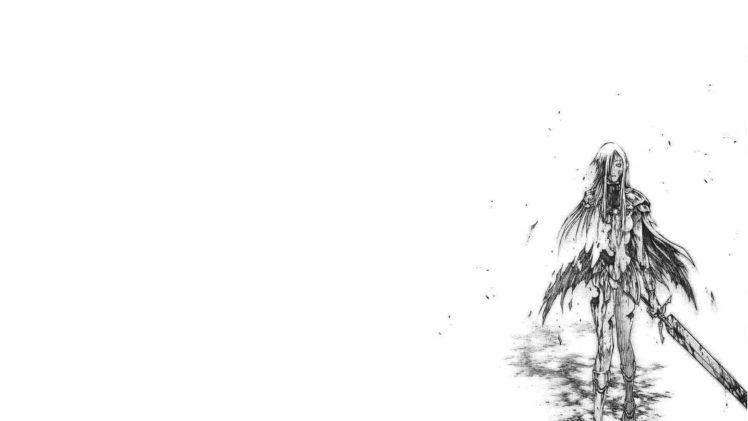 anime girls, Claymore (anime) HD Wallpaper Desktop Background