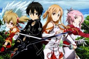 Sword Art Online, Yuuki Asuna, Kirigaya Kazuto, Ayano Keiko, Shinozaki Rika