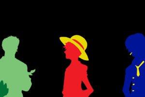 One Piece, Monkey D. Luffy, Zoro Lorenor, Sanji