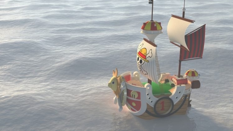 One Piece, Thousand Sunny HD Wallpaper Desktop Background