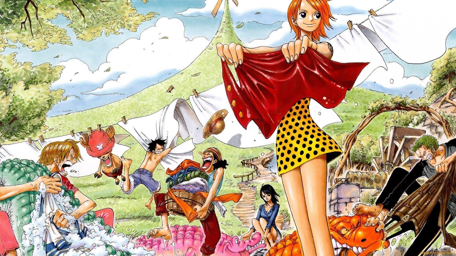 One Piece Nami Tony Tony Chopper Usopp Robin Character Sanji Roronoa Zoro Hd Wallpapers Desktop And Mobile Images Photos