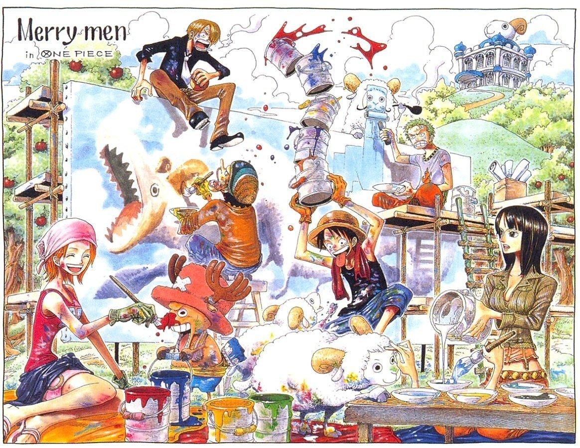 One Piece Monkey D Luffy Sanji Roronoa Zoro Nico