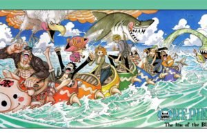 One Piece, Nami, Monkey D. Luffy, Frankie, Tony Tony Chopper, Sanji, Nico Robin, Roronoa Zoro, Usopp, Sea monsters