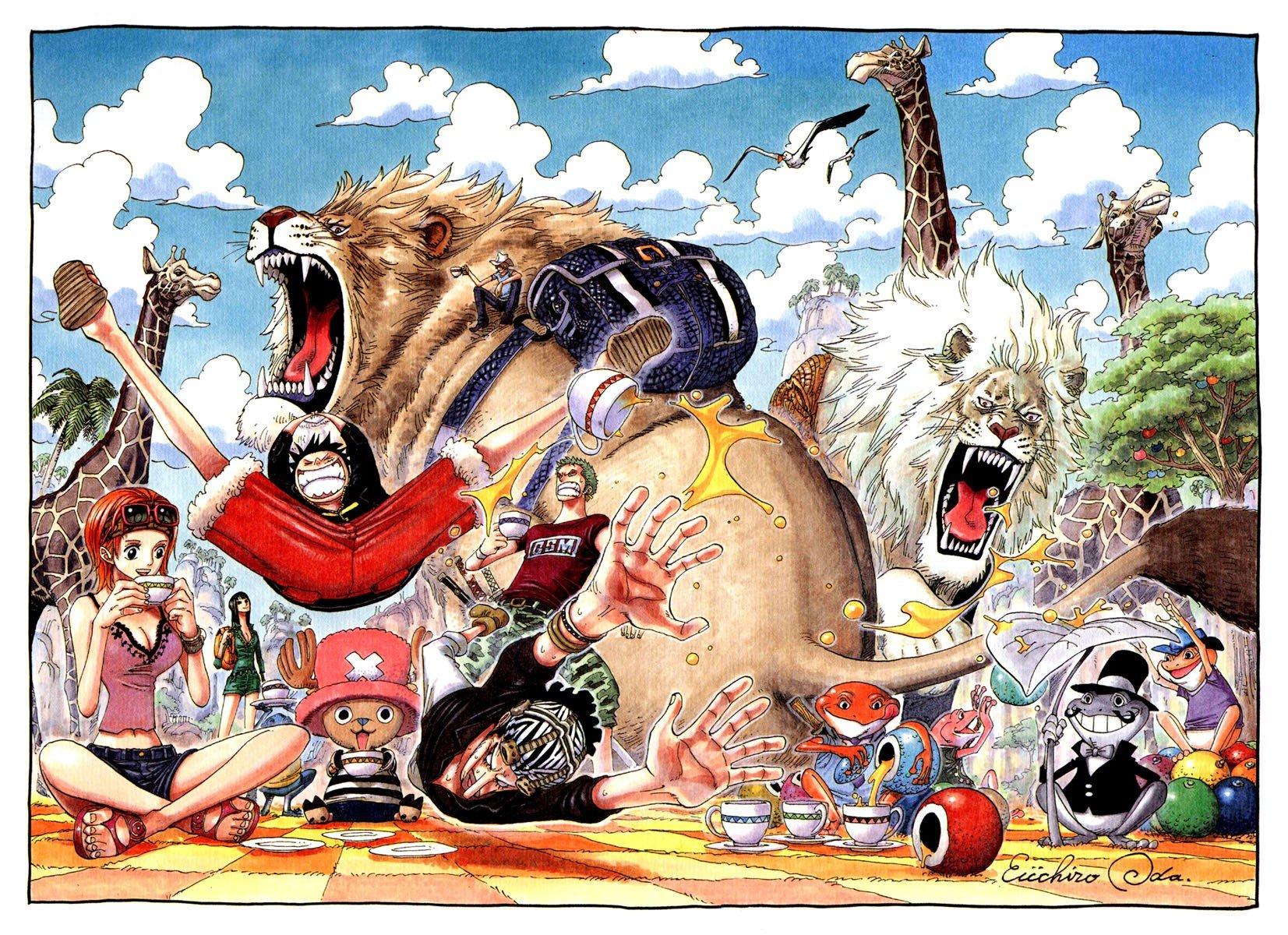 One Piece, Monkey D Luffy, Roronoa Zoro, Usopp, Tony Tony -4152