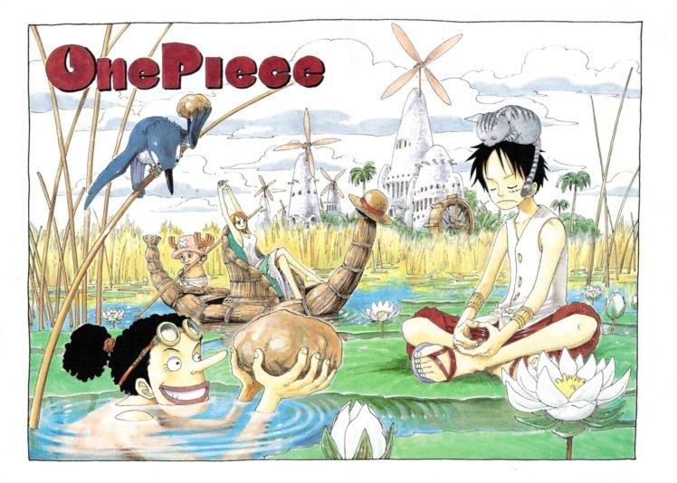 One Piece, Monkey D. Luffy, Nami, Tony Tony Chopper HD Wallpaper Desktop Background