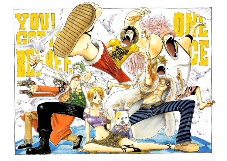 One Piece, Monkey D. Luffy, Sanji, Nami, Roronoa Zoro, Usopp HD Wallpaper Desktop Background